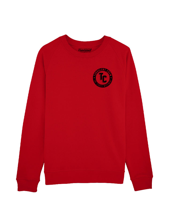 sweat red turbulent clothing