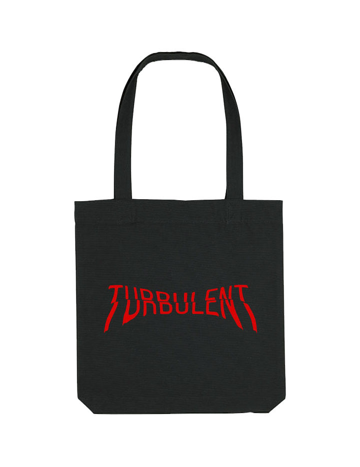 turbulent totebag red