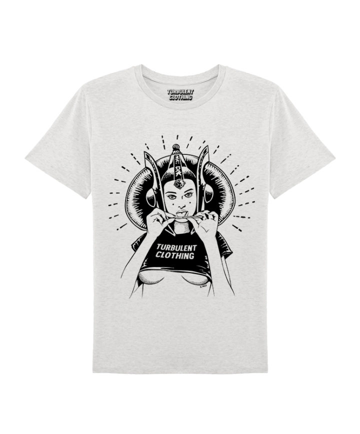 BAD QUEEN-t-shirt-grey
