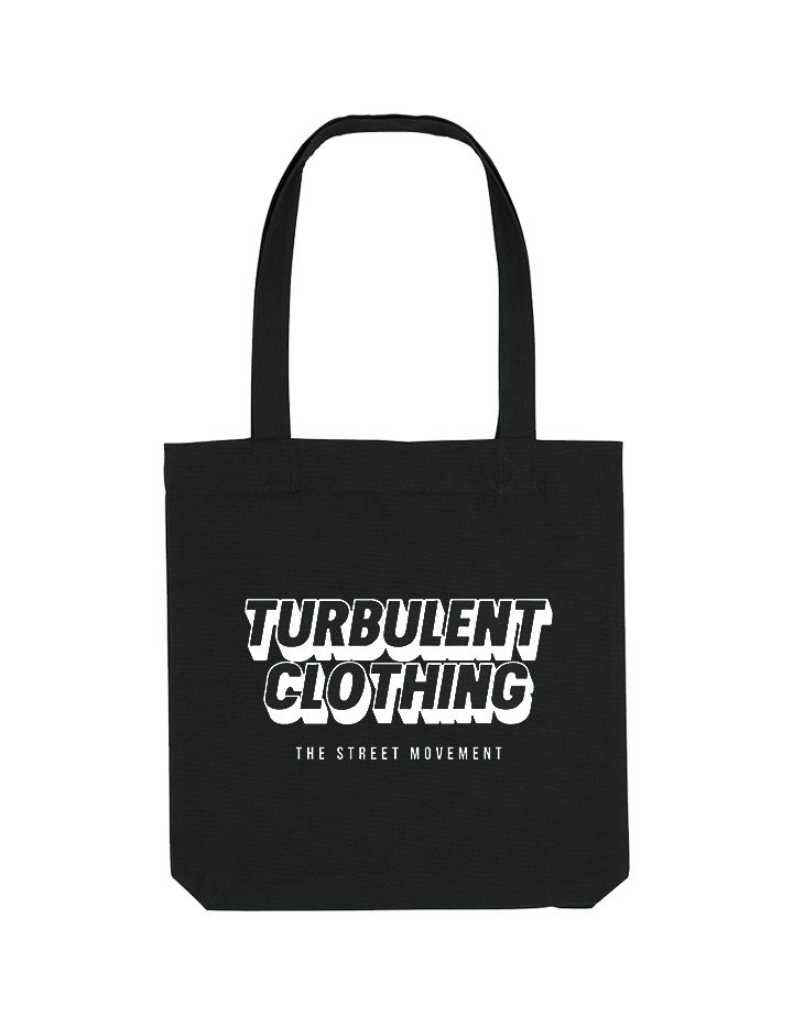 tote bag noir turbulent