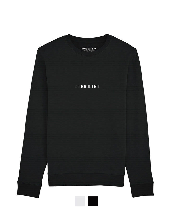 turbulent-collection sweat noir