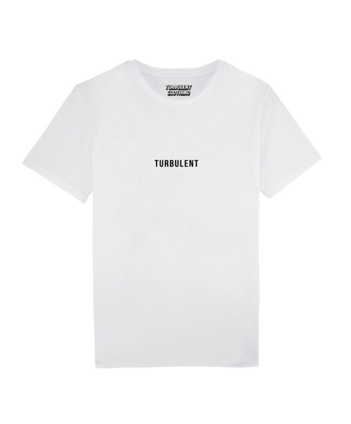 turbulent-collection t-shirt-white